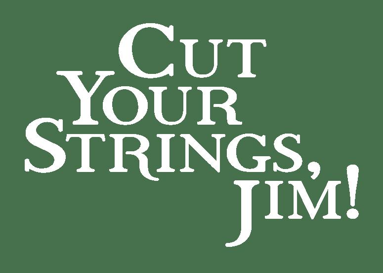 Cut Your Strings, Jim! - Logo